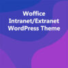 Woffice Intranet/Extranet WordPress Theme