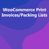 WooCommerce Print Invoices/Packing Lists