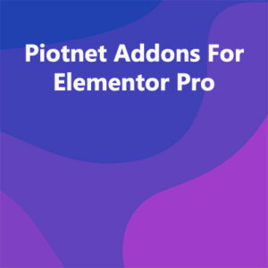 Piotnet-Addons-For-Elementor-Pro-Nulled