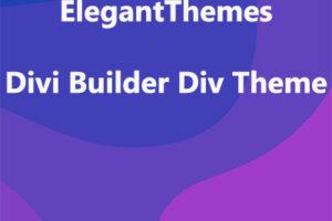ElegantThemes Divi Builder Div Theme