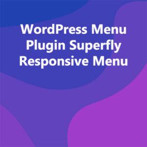 WordPress Menu Plugin Superfly Responsive Menu