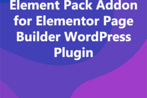 Element Pack Addon for Elementor Page Builder WordPress Plugin