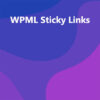 WPML Sticky Links