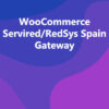 WooCommerce Servired/RedSys Spain Gateway