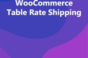 WooCommerce Table Rate Shipping
