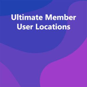 Ultimate Member User Locations