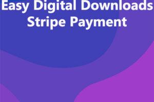 Easy Digital Downloads Stripe Payment