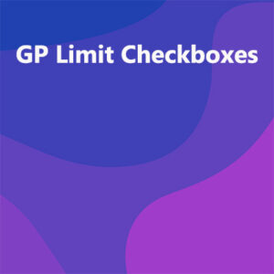 GP Limit Checkboxes