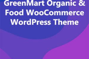 GreenMart Organic & Food WooCommerce WordPress Theme