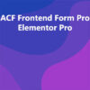 ACF Frontend Form Pro Elementor Pro