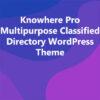 Knowhere Pro Multipurpose Classified Directory WordPress Theme