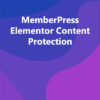 MemberPress Elementor Content Protection