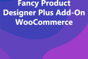 Fancy Product Designer Plus Add-On WooCommerce