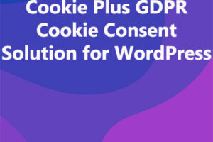 Cookie Plus GDPR Cookie Consent Solution for WordPress