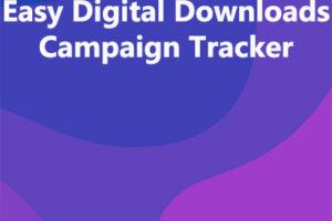 Easy Digital Downloads Campaign Tracker
