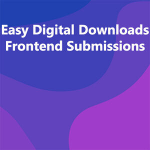 Easy Digital Downloads Frontend Submissions