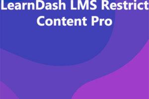 LearnDash LMS Restrict Content Pro