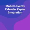 Modern Events Calendar Zapier Integration