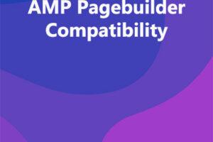 AMP Pagebuilder Compatibility