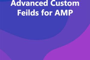 Advanced Custom Feilds for AMP