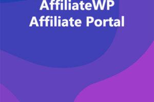 AffiliateWP Affiliate Portal