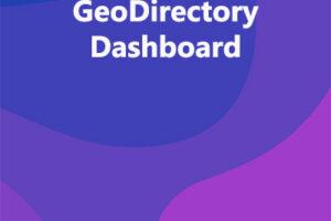 GeoDirectory Dashboard