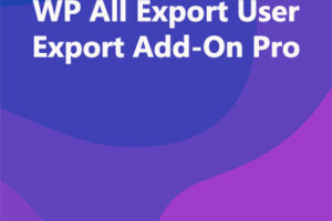 WP All Export User Export Add-On Pro